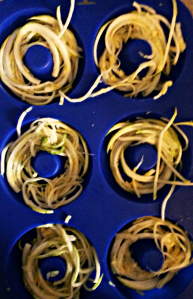 Spiralized Zoodles