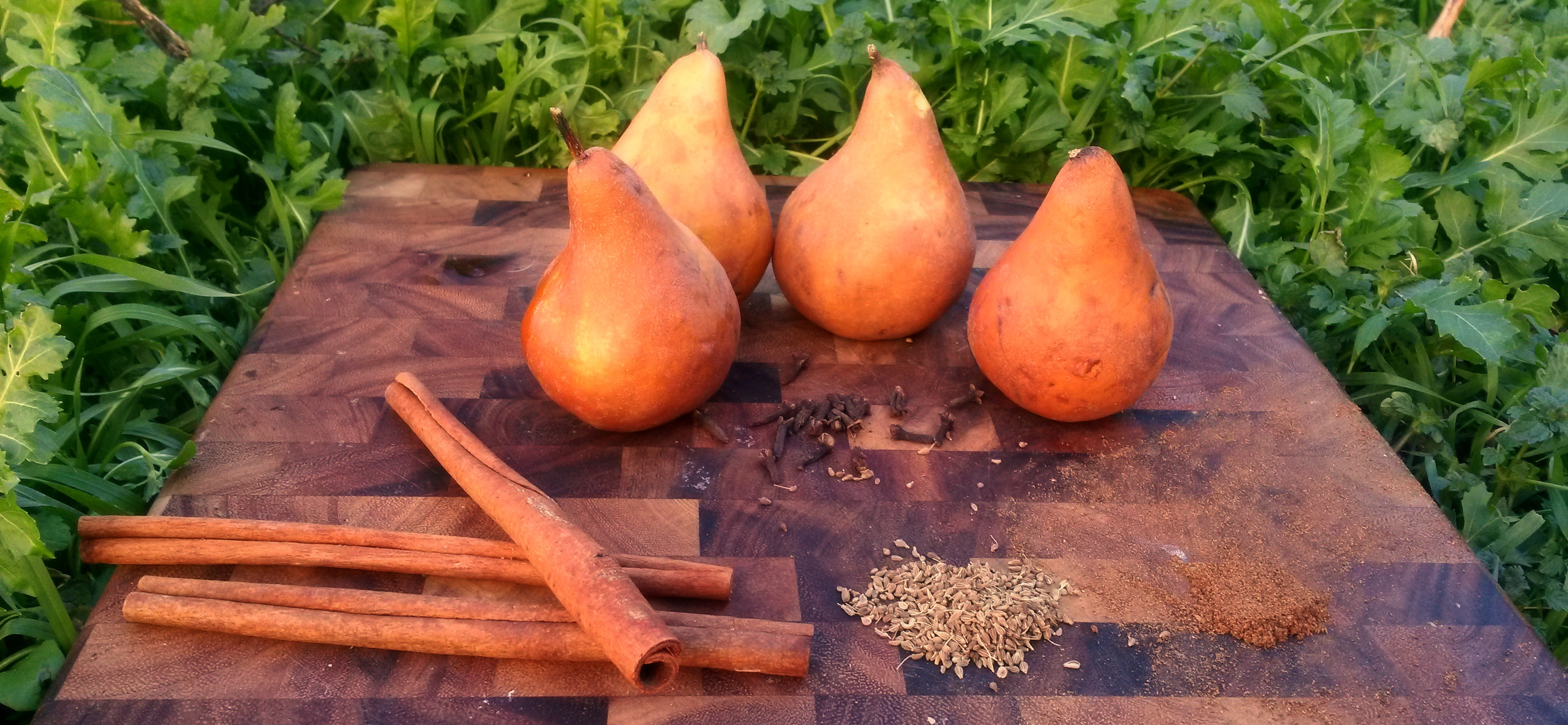 Pear Cider Ingredients