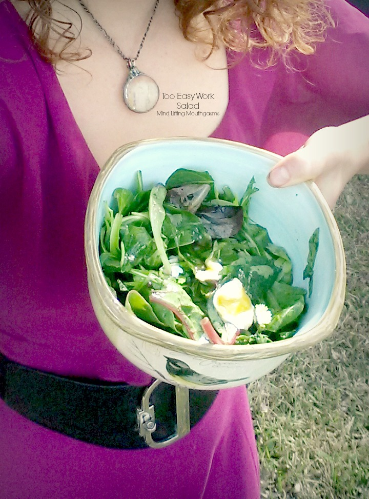 Too Easy Work Salad