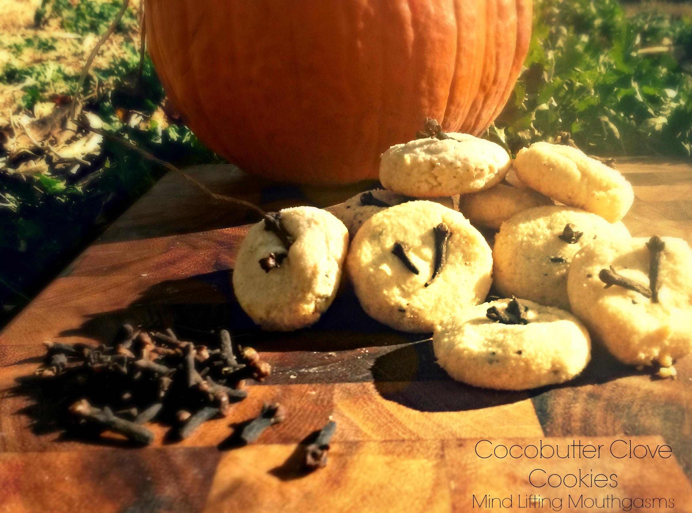 Cocobutter Clove Cookies